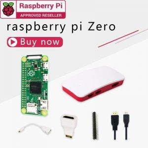 Kit Raspberry Pi zéro processeur 1GHz 512 Mo de RAM