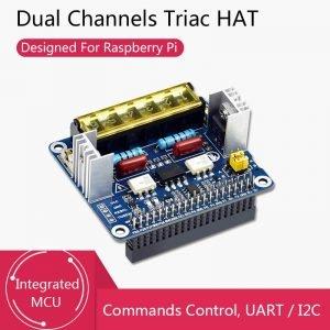 Carte d'extension 8 Ch Relais pour Raspberry Pi Triac MCU UART I2C