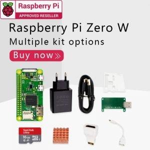 Kit Raspberry Pi Zéro W 1GHz 512 Mo de RAM