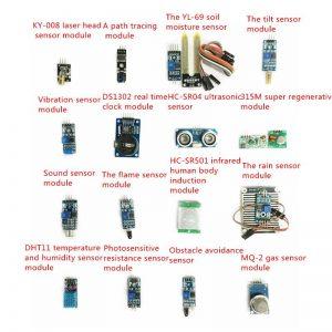Kit 16 Capteurs pour le Raspberry pi