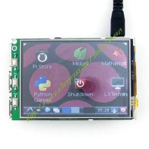 Ecran tactile 3.2 pouces pour le Raspberry Pi B et B+