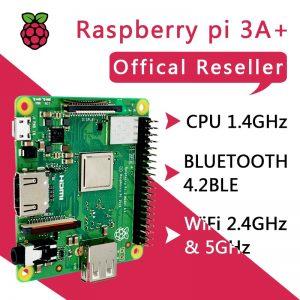 Kit Raspberry Pi 3 modèle A+ avec CPU BMC2837B0 512M RAM WiFi et Bluetooth