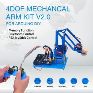 Kit d'apprentissage Keyestudio - Robot Bras Mécanique 4DF