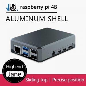 Boîtier Aluminium Argon NEO pour Raspberry Pi 4 avec Accessoires